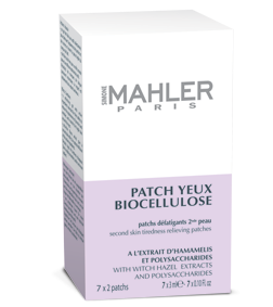 Patch yeux biocellulose